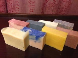 手作り生石鹸のイメージ